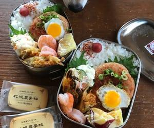 japan, japanese food, and bento image