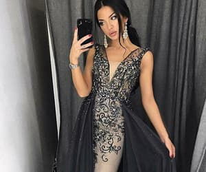mermaid prom dress, prom dresses 2018, and prom dresses unique image