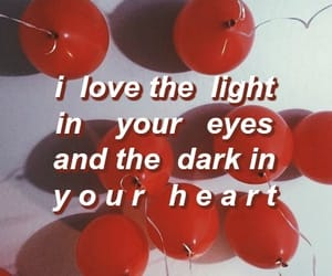 dark, light, and Lyrics image