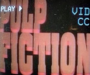 aesthetic, pulp fiction, and red image