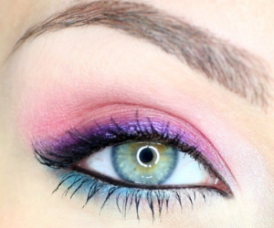 eye, girl, and make up image