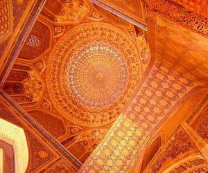 orange, aesthetic, and architecture image