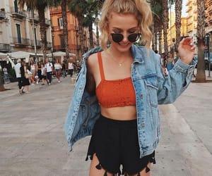 beautiful, girls, and summer style image