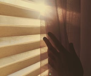 aesthetic, hands, and sun image