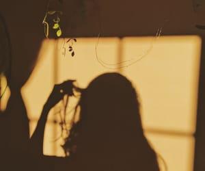 shadow, aesthetic, and art image