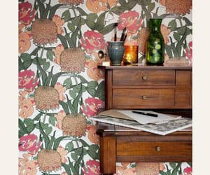 design, floral, and table image