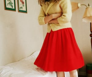 1950s, girl, and outfit image