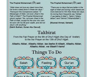 fasting, salah, and dhul hajj image