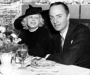jean harlow, vintage, and william powell image