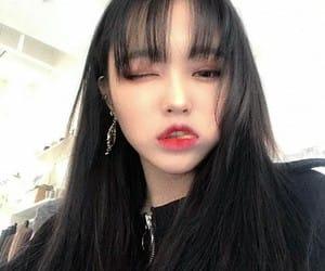 beautiful, girl, and korean image