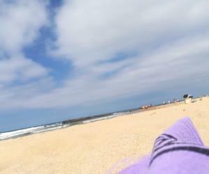 beach, sun, and spain image