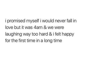 happy, promise, and love image