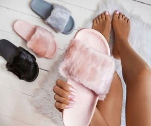 fur, slipper, and peluches image