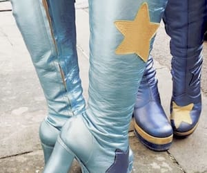 boots and mamma mia image
