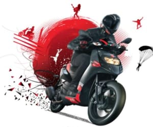 new scooters, aprilia bikes in india, and new scooty in india image