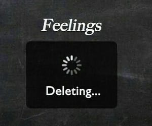 feelings, quotes, and delete image