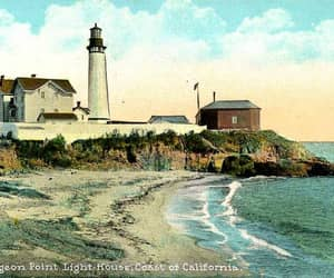 lighthouse, pacific ocean, and Santa Cruz image