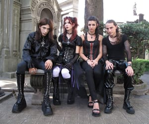 goth, gothic, and goths image