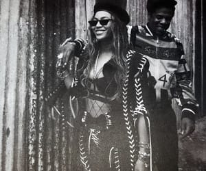 black and whit, couples, and the carters image