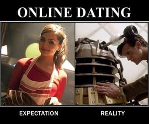 doctor who, expectation vs reality, and funny image