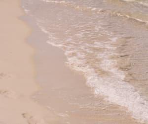 sea, beach, and sand image