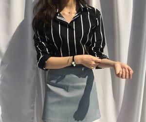 casual, stripes, and fashion image