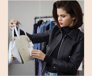 selena gomez, coach, and fashion image
