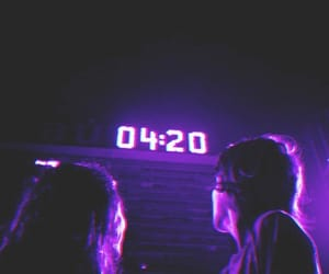 purple, 420, and aesthetic image