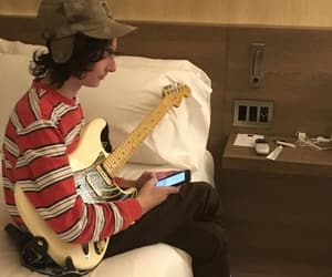rock and finn wolfhard image