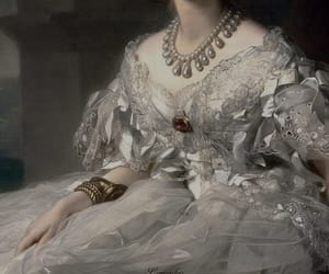 painting, dress, and portrait image