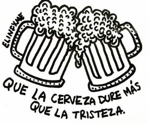 cerveza, frases, and quotes image