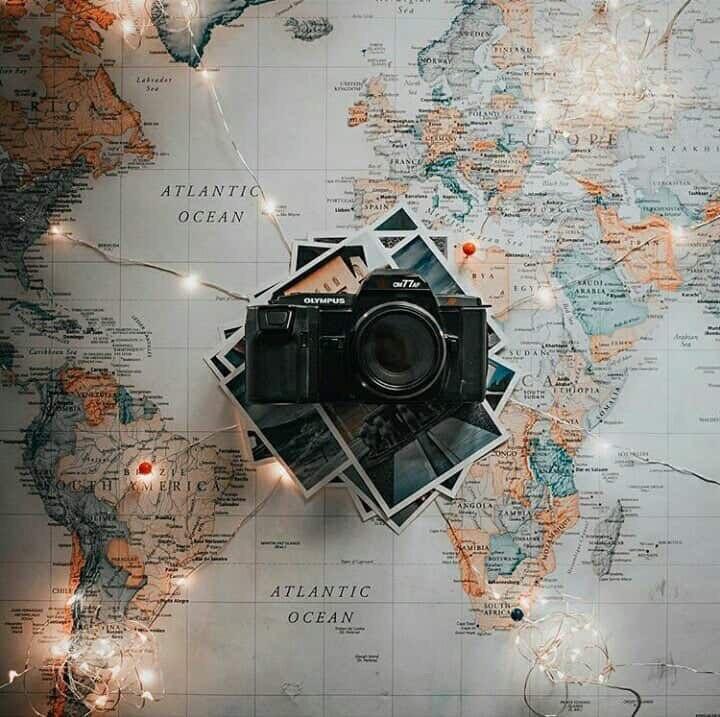 light, travel, and camera image