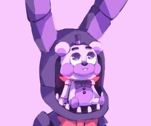 bonbon, bonnie the bunny, and fnaf sister location image