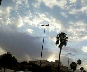 blue, morroco, and clouds image