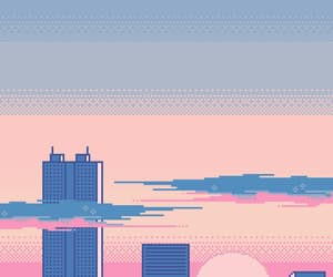pixel, pink, and purple image