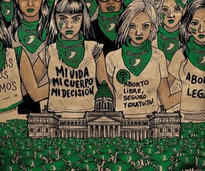 woman, mujeres, and aborto legal image