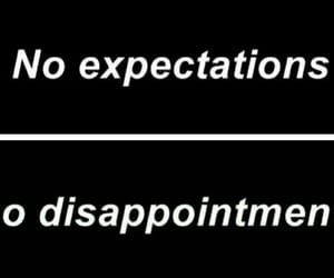 black, expectations, and disappointment image