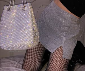 aesthetic, silver, and fashion image