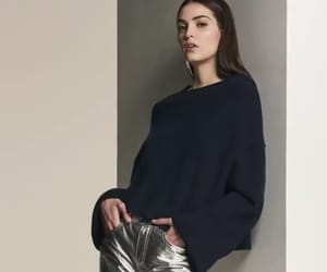 girl, model, and style image