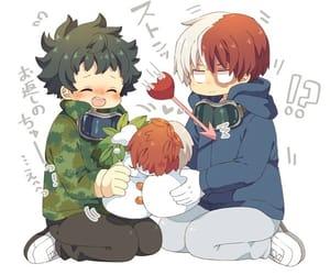 yaoi, cute, and tododeku image