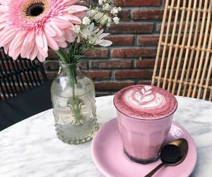 cappuccino, delicious, and drink image