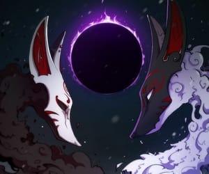 art, fantasy, and fox image