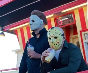 summer, jason voorhees, and Halloween image
