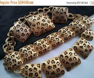 etsy, leopard, and leopard necklace image