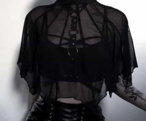 goth, clothes, and dark image