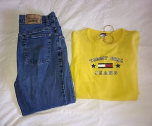 jeans, tomy, and mom jeans image