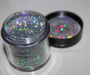 glitter, mac, and makeup image
