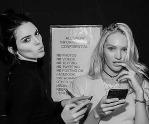 kendall jenner, candice swanepoel, and model image