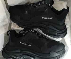 shoes, Balenciaga, and sneakers image