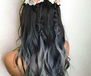 hair, hair cut, and hair style image